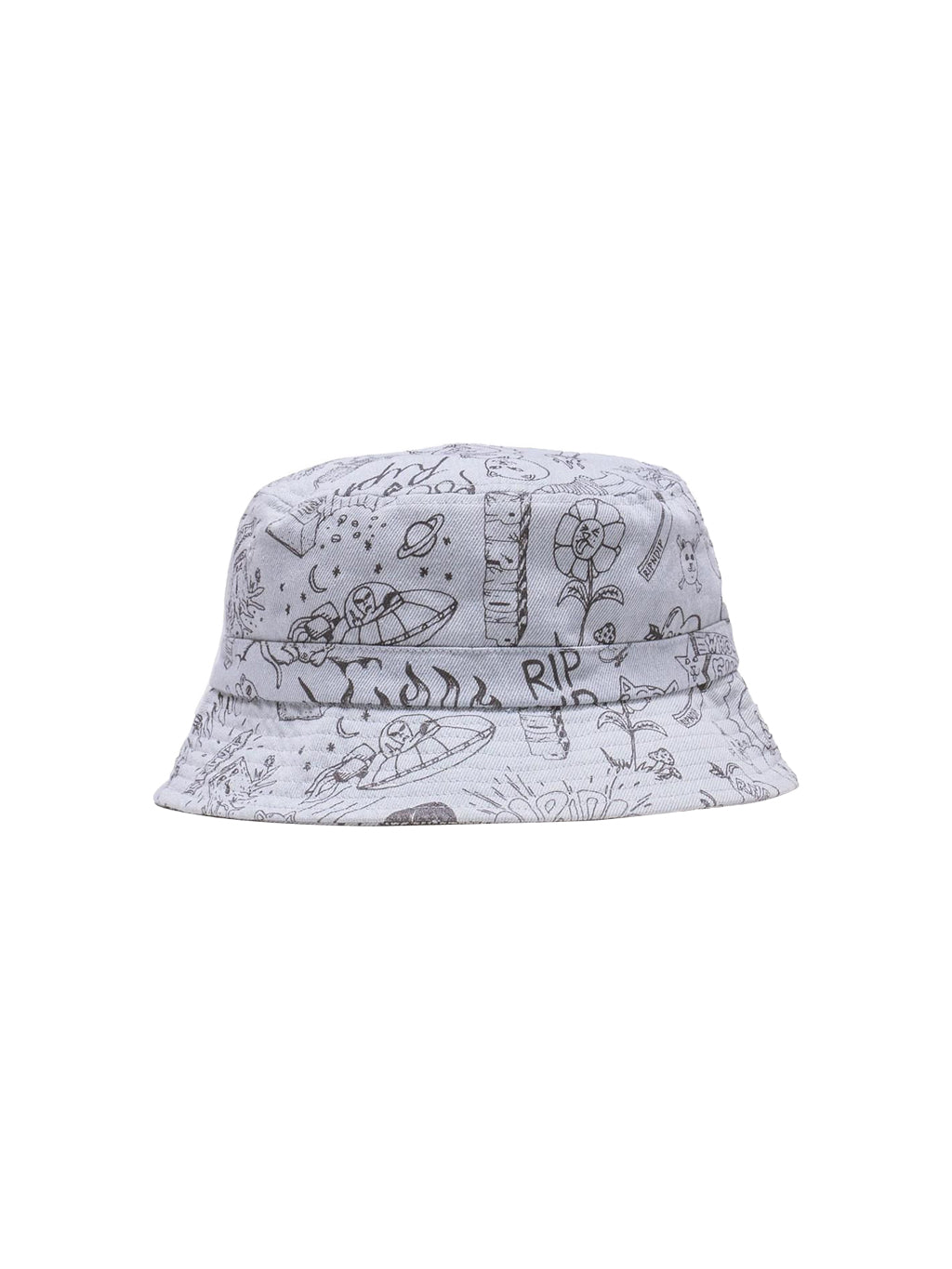 Light Denim Wash Sharpie Bucket Hat