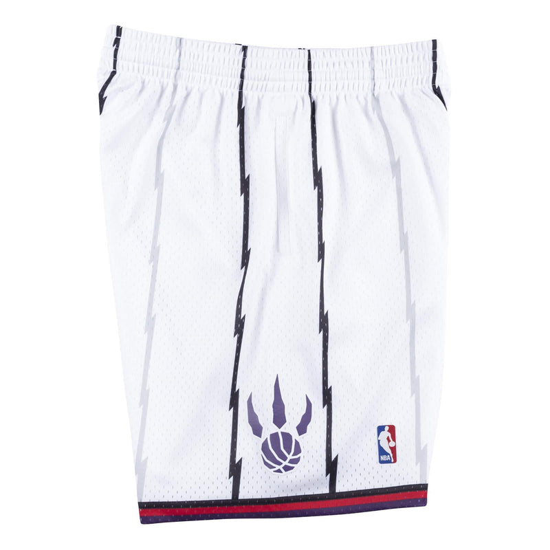 White Toronto Raptors Shorts