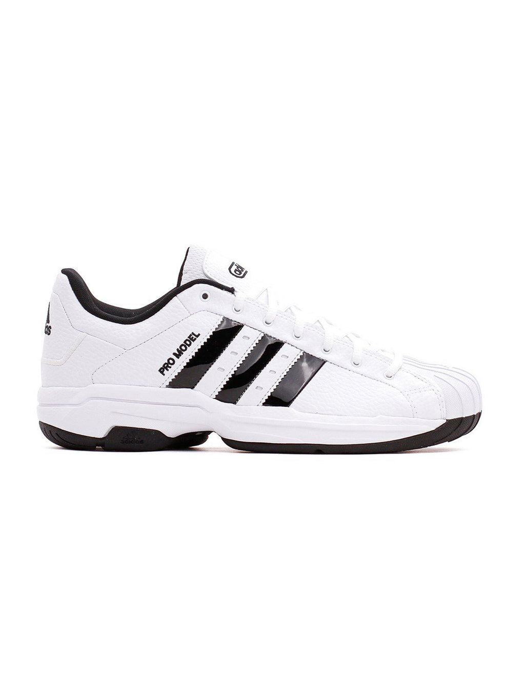 White & Black Pro Model 2G Low Sneakers