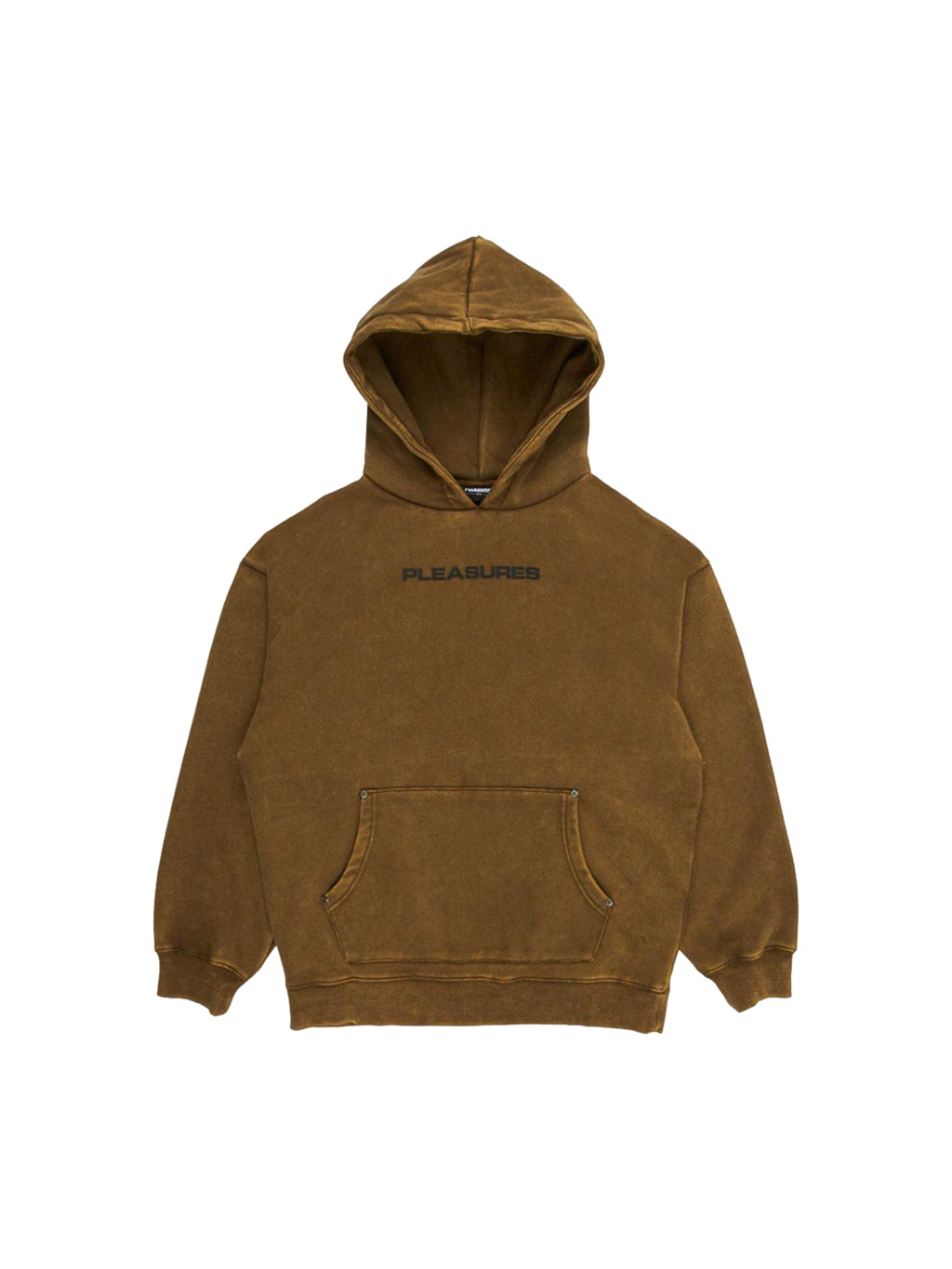 Olive Burnout Dyed Hoodie