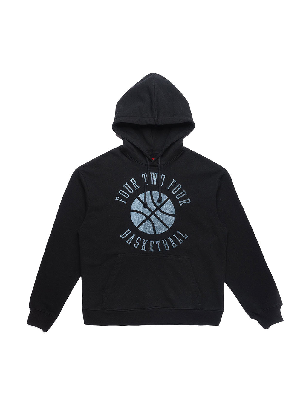 Black Basketball Hooded Sweatshirt