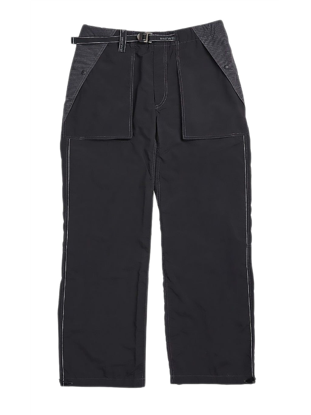 Black Drawstring Cuffs Pants