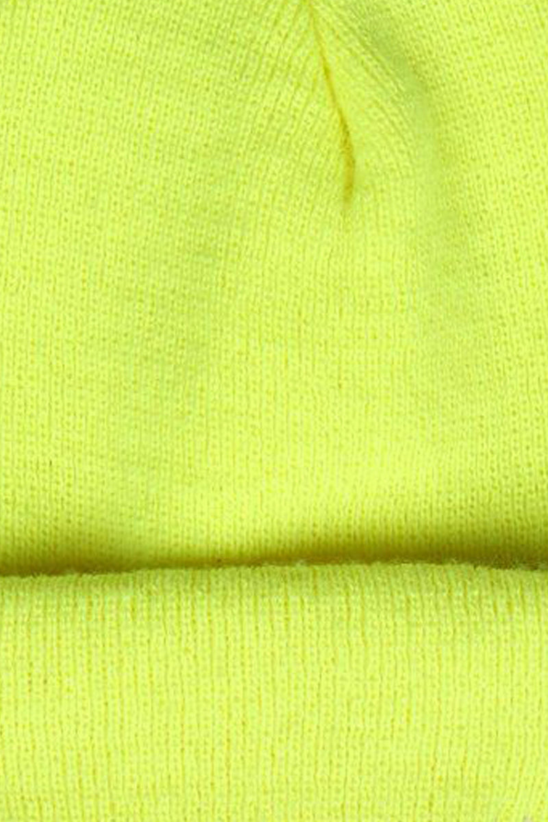 Yellow Two-Way Beanie