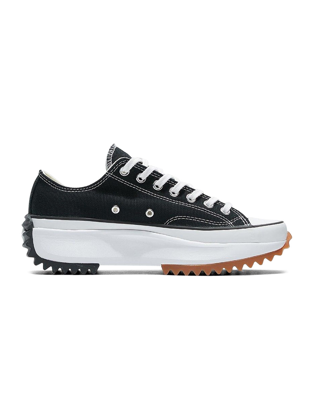 Black or White  Run Star Hike Ox Sneakers