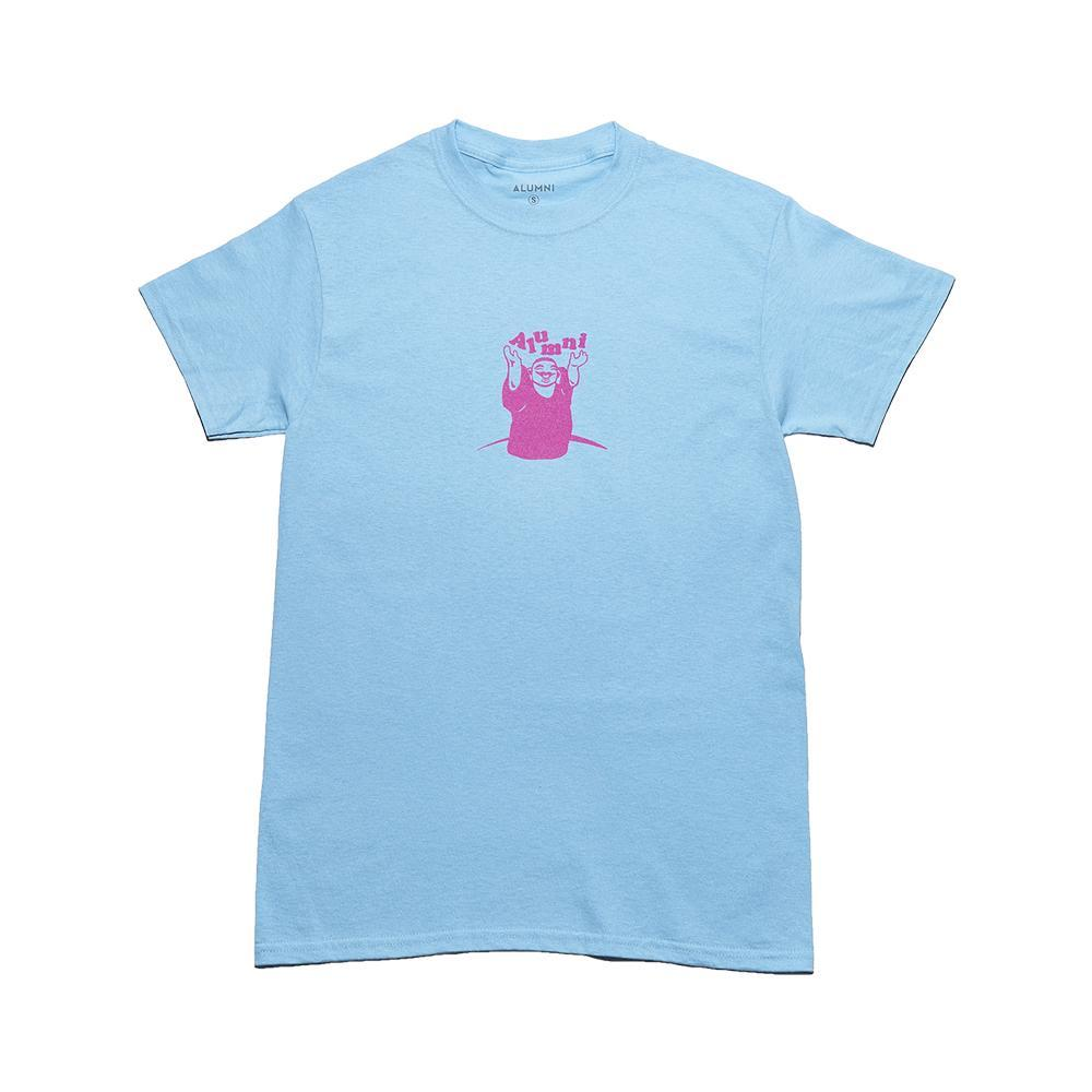 Blue CNY Happy Buddha Short Sleeve T-Shirt
