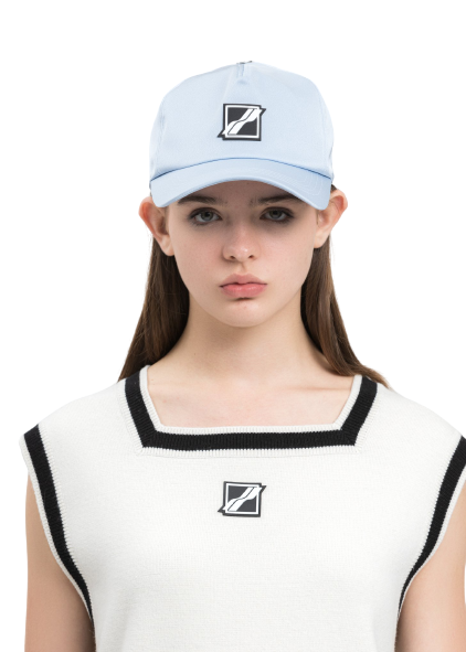 Sky Blue Basic Logo Saint Cap