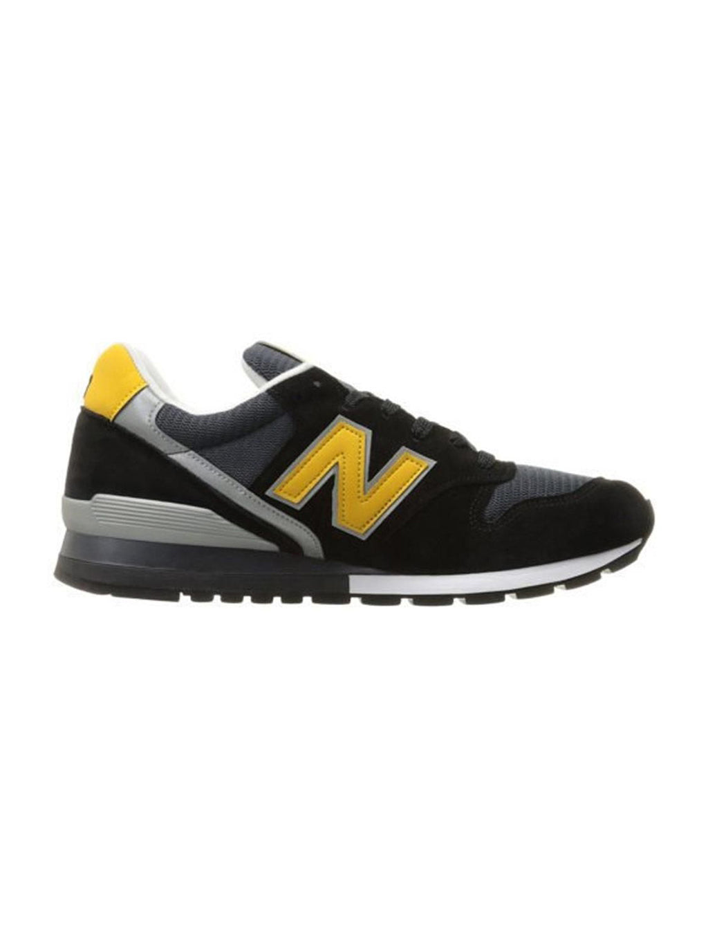 Black & Yellow 996 D Retro Sneakers