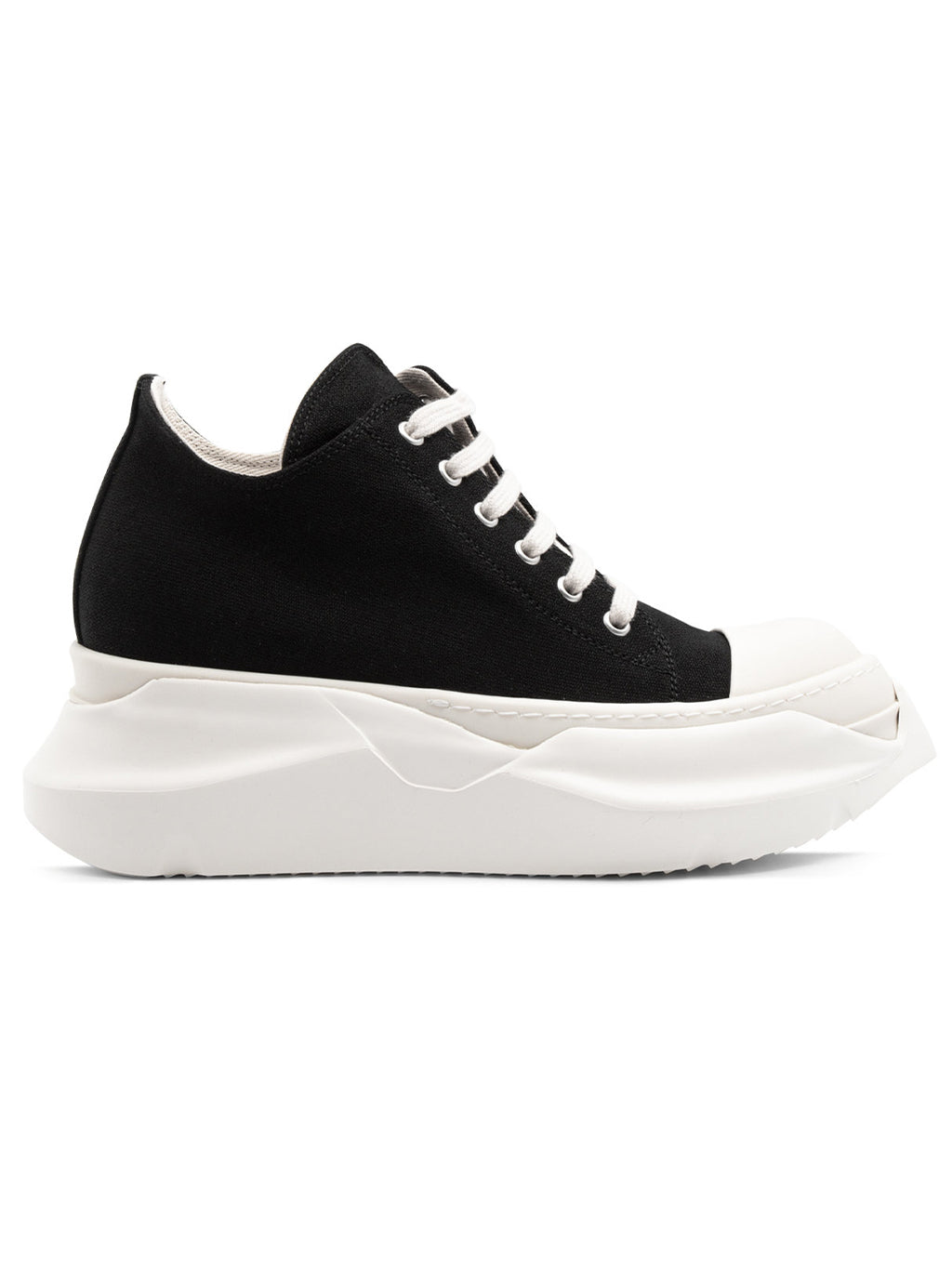 Blacks Abstract Low Sneakers