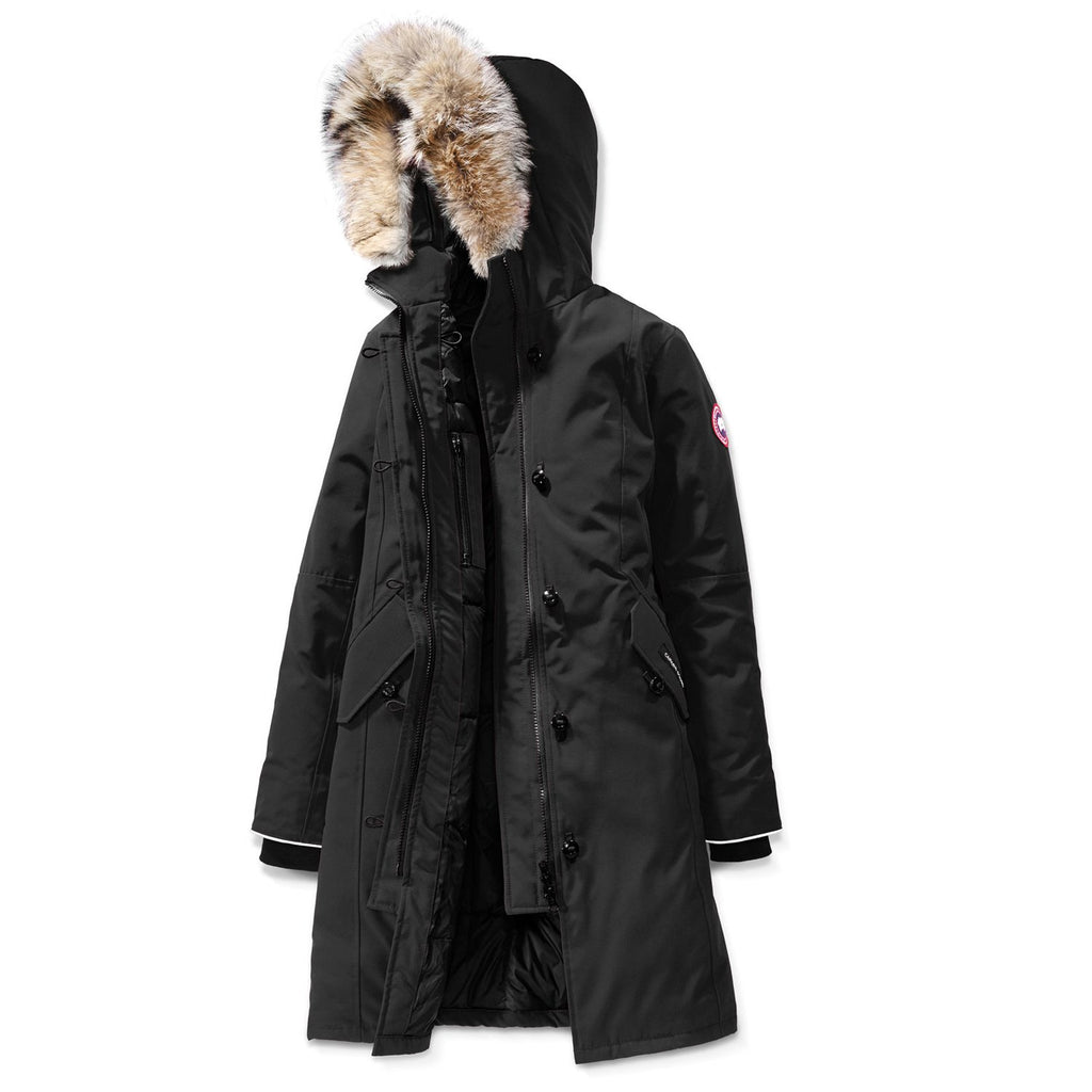 Black/Grey Youth Brittania Parka