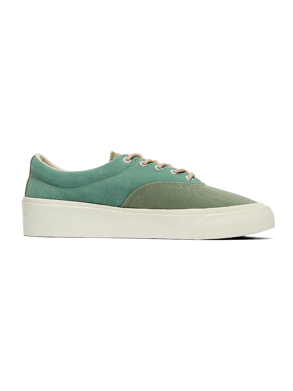 Green Skid Grip Ox Sneakers