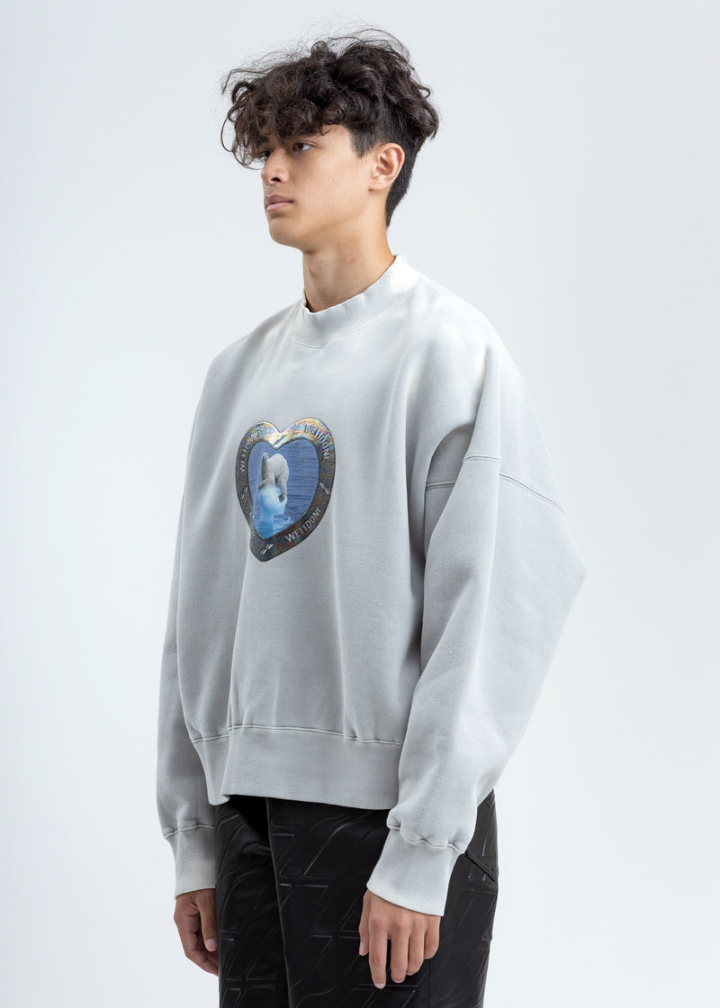 Ivory Thermo Sensitive Polar Bear Sweatshirt