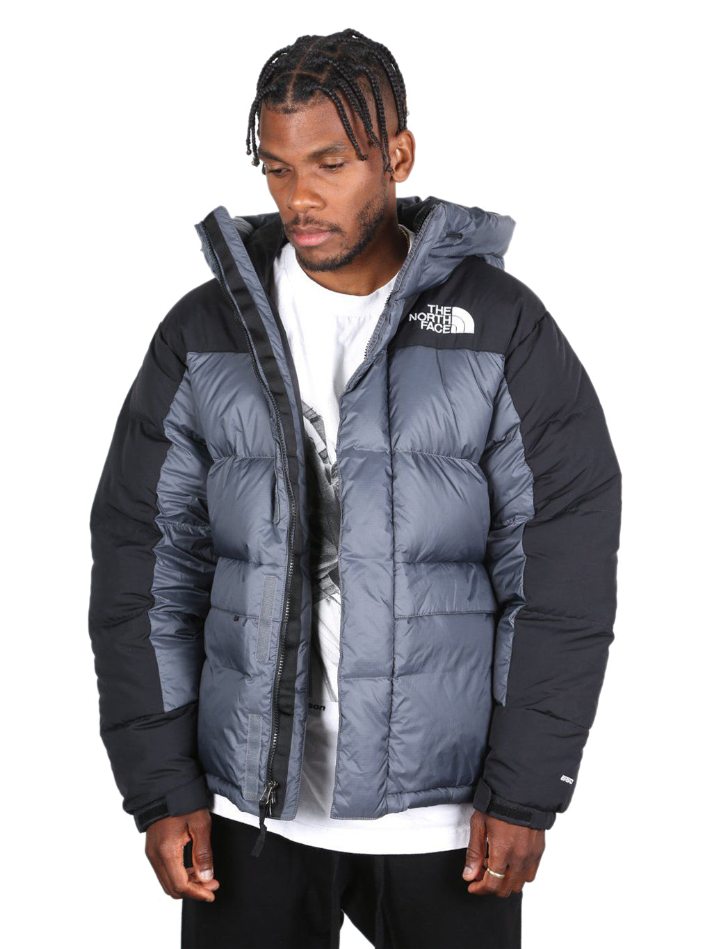 Grey & Black Himalayan Down Parka