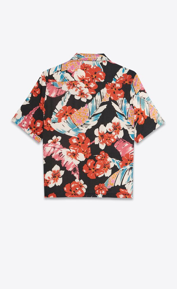 Multi Hawaiian Floral Shirt