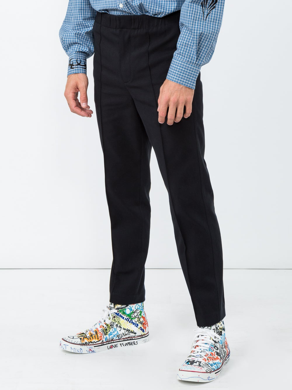 Black Splittable Trouser