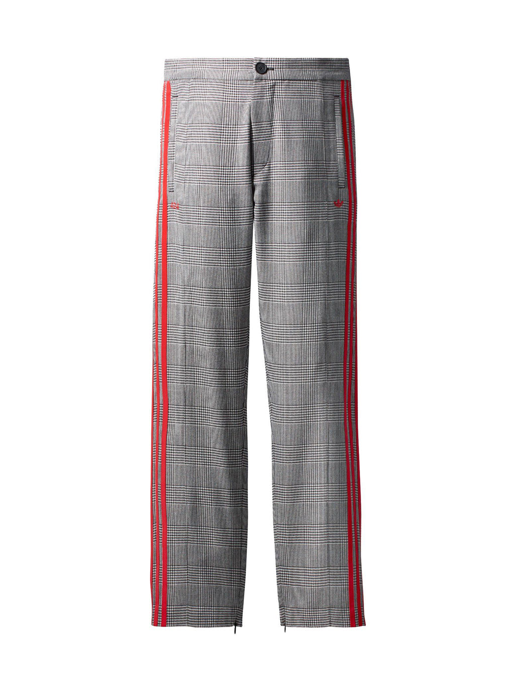 Grey Wool Track Pants