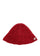 Red Embroidered Metal Logo Narrow Bucket Hat thumbnail 1