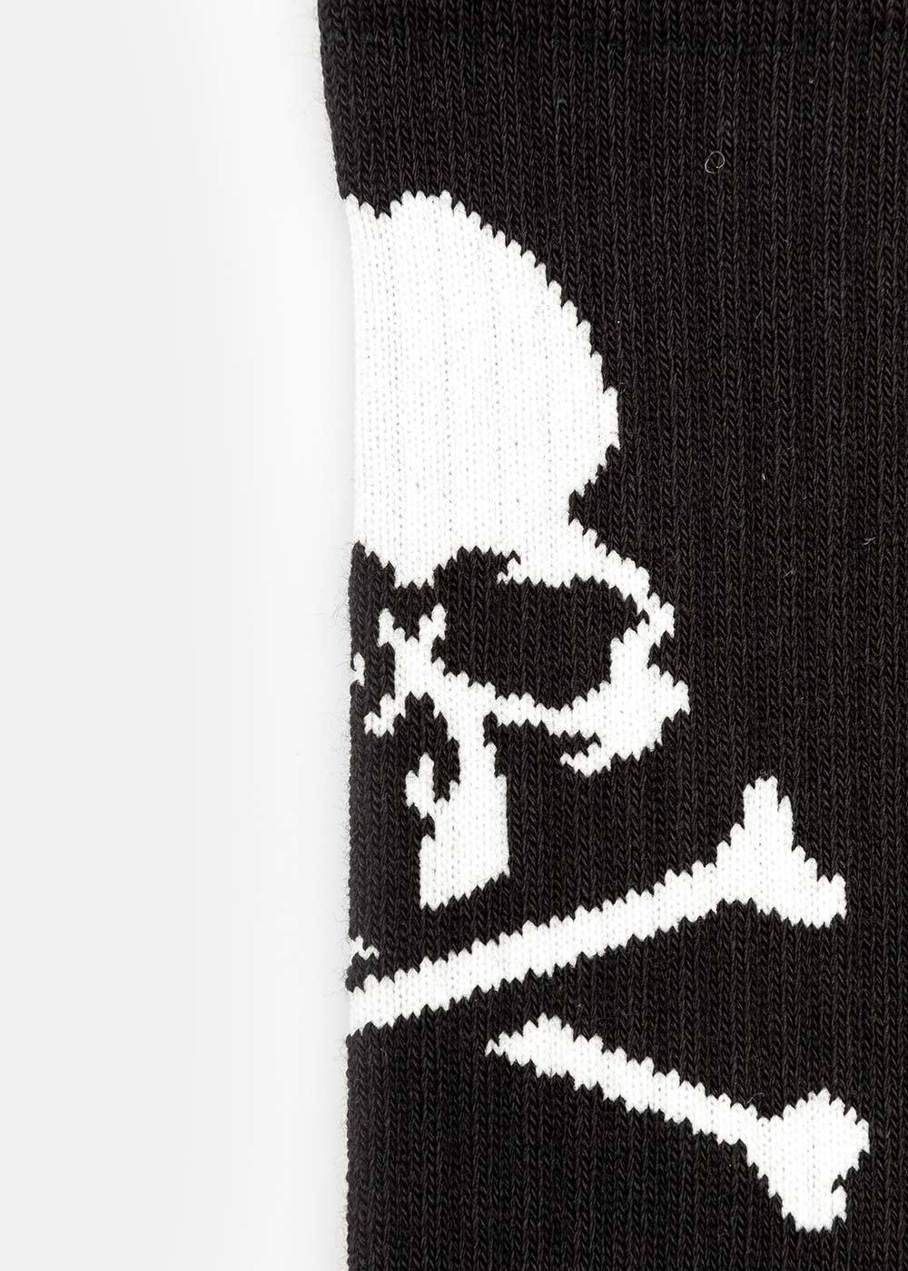 Black Logo Crew Socks