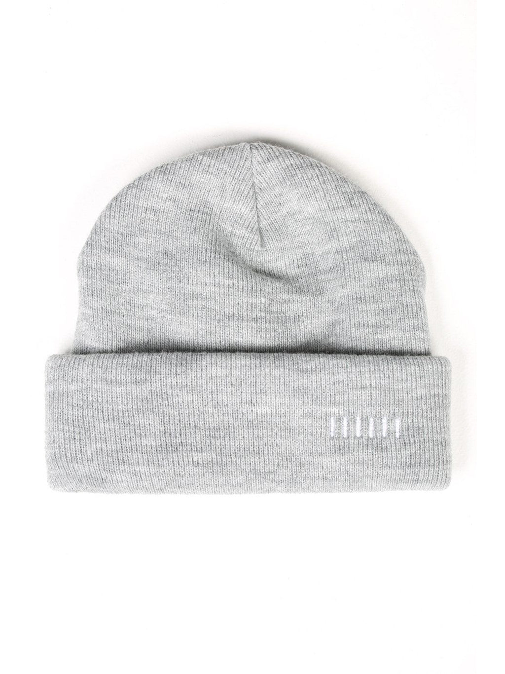 Grey Two-Way Beanie