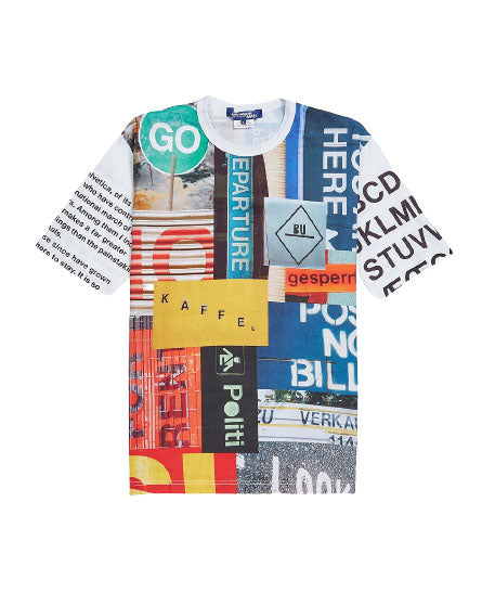 Multi All Over Graphic T-Shirt