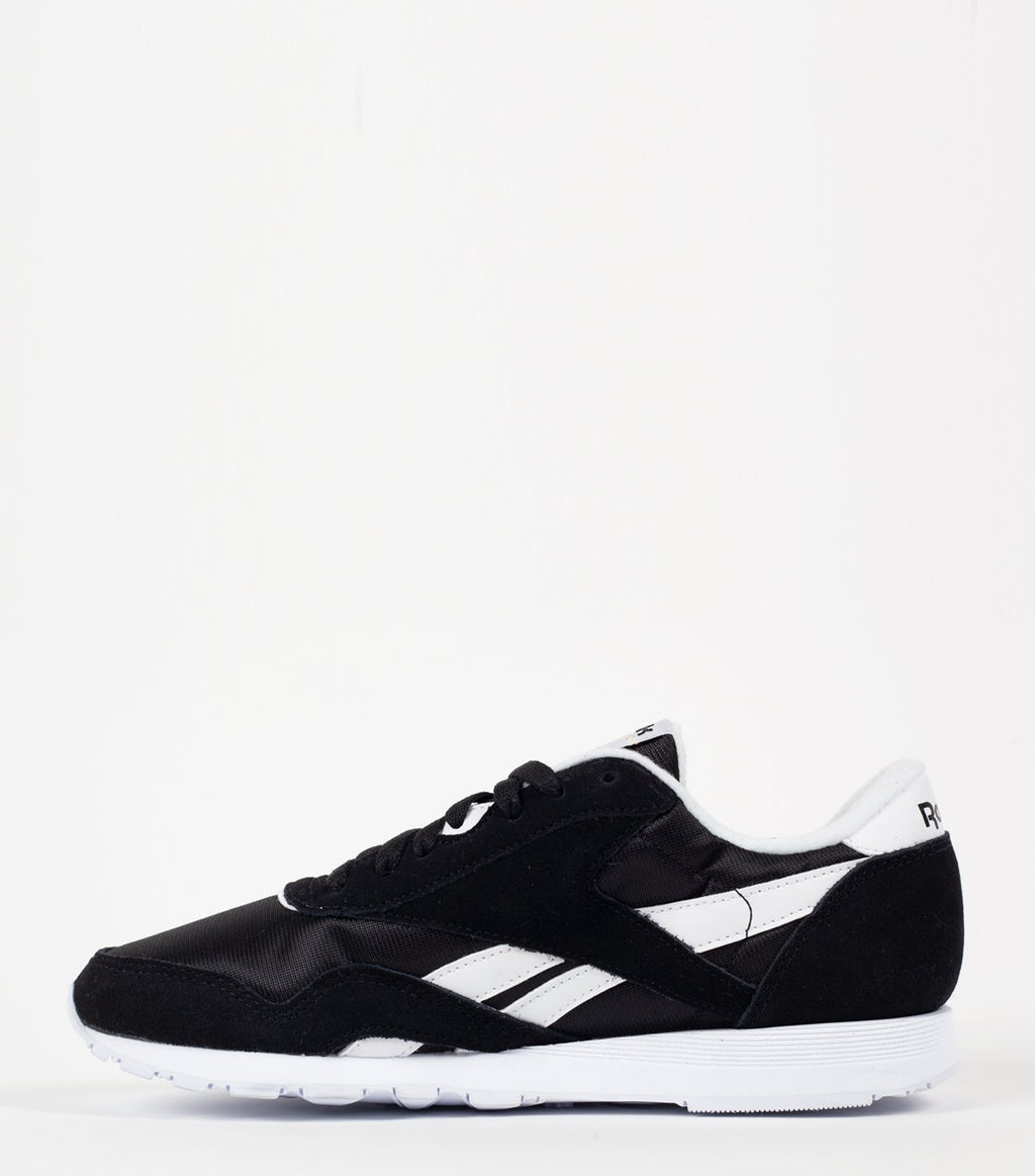 Black Classic Nylon Shoes
