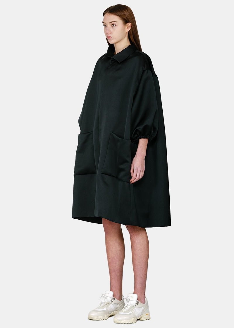 Black Coat Dress