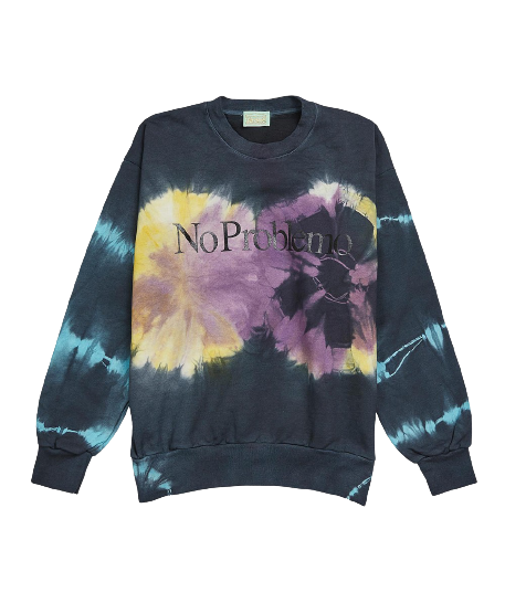 Multi No Problemo Tie-Dye Headlights Sweatshirt