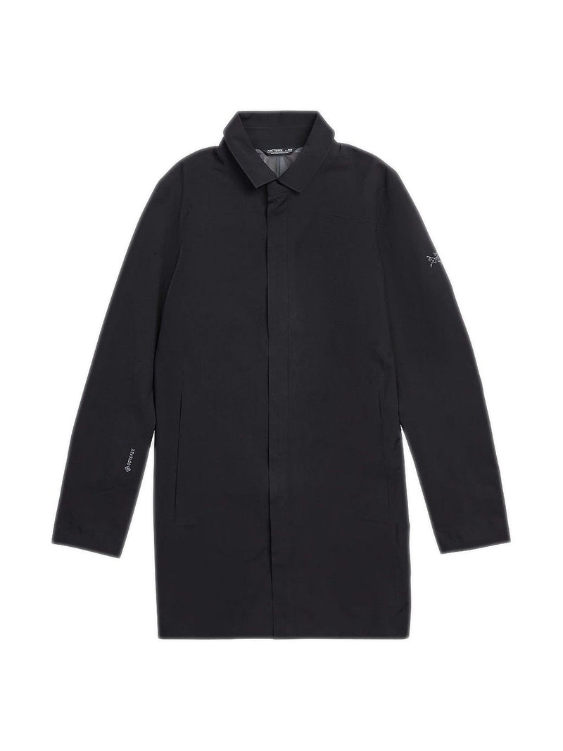 Black Keppel Trench Coat