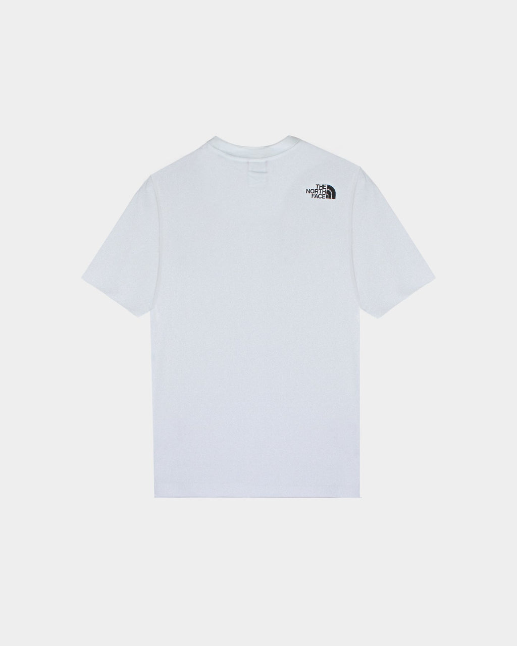 White & Black Short-Sleeve Fine T-Shirt