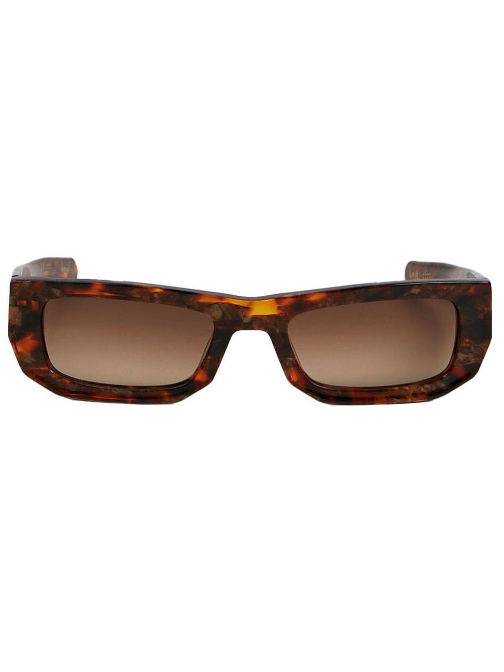 Brown Bricktop Sunglasses