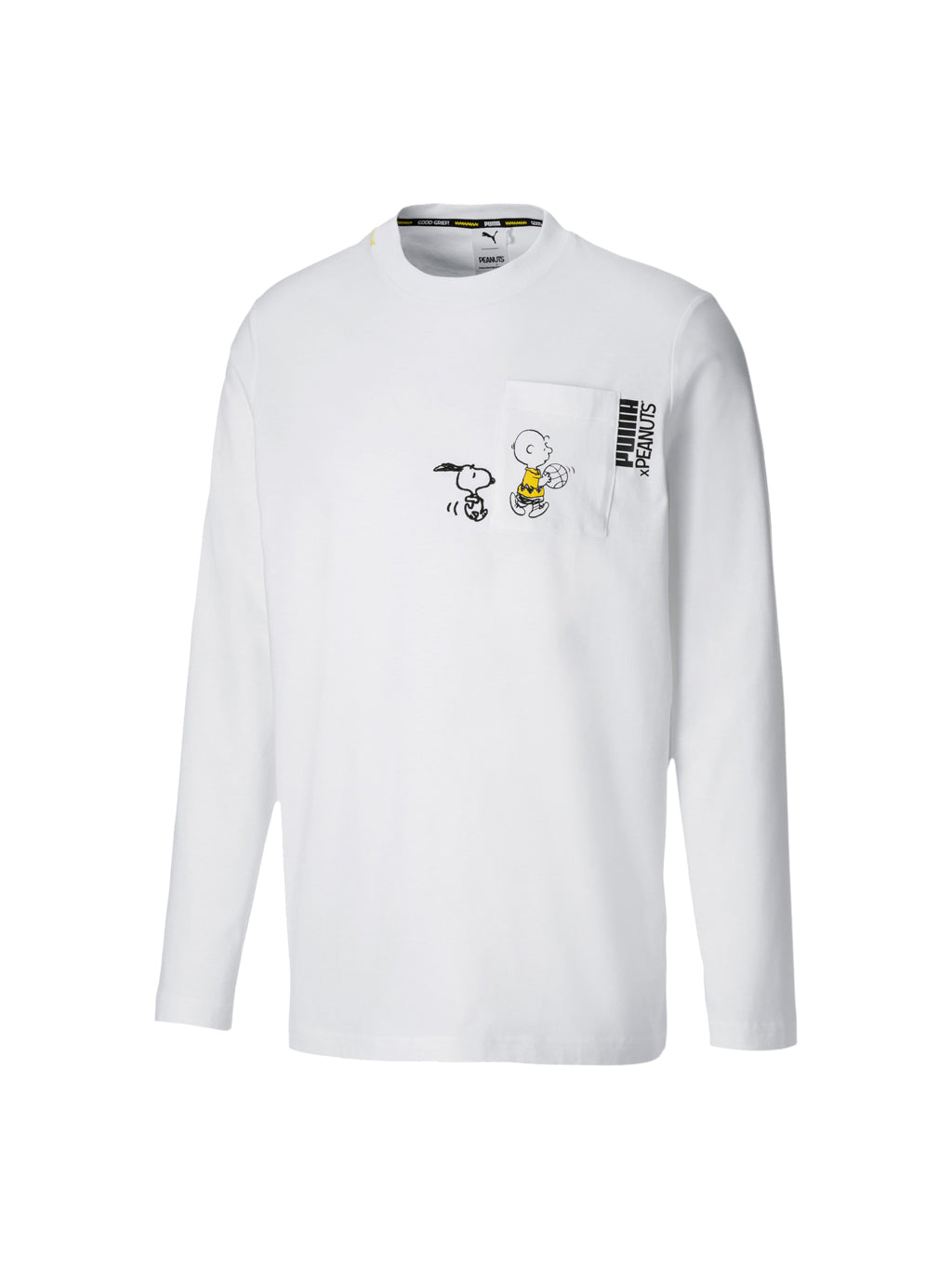 White x Peanuts Long Sleeve T-Shirt