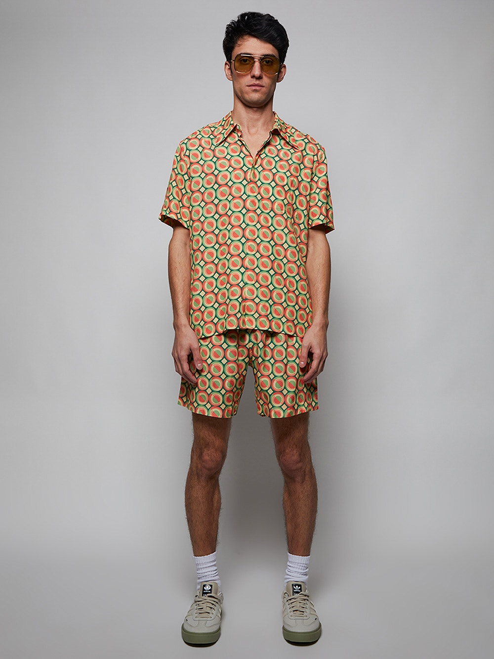 Multi x Ricky Regal Relaxed Fit Print Shirt