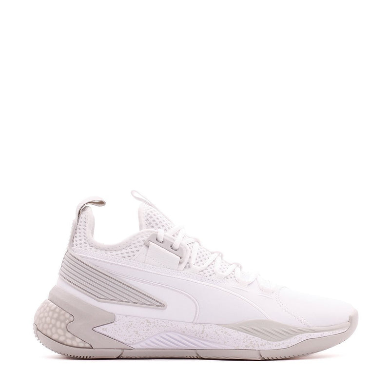 White Basketball Uproar Hybrid Court Shoes