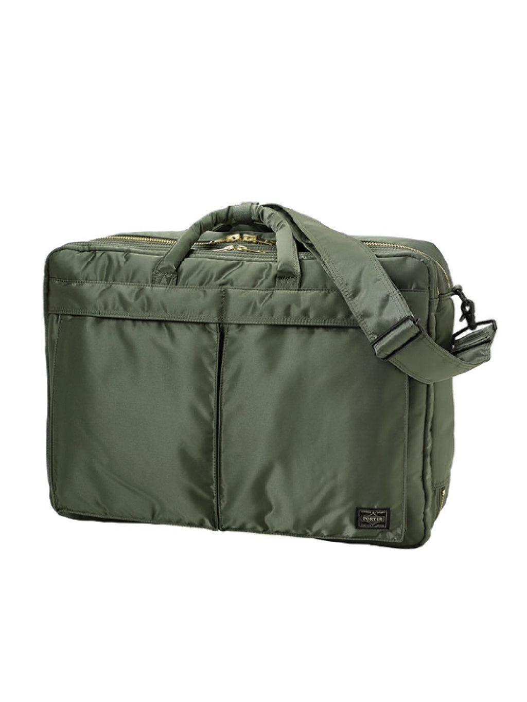 Green Tanker 3Way Briefcase (L) Bag