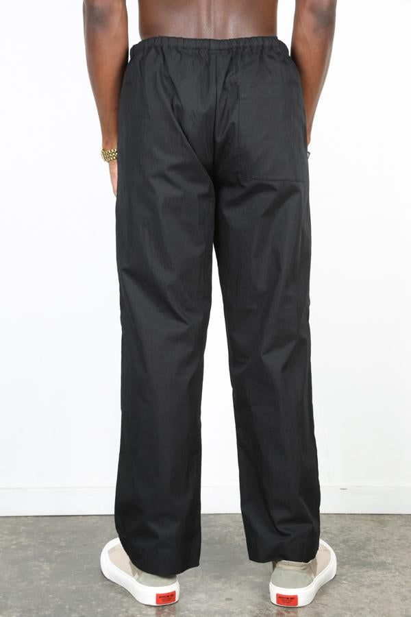 Black Drawcord Trousers