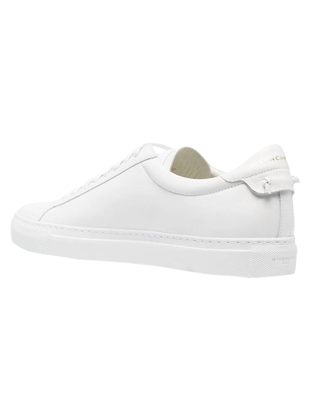 White Latex Band Sneaker