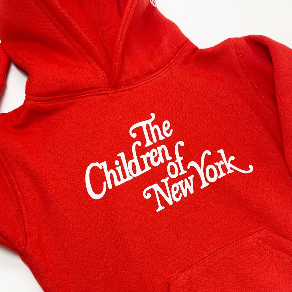 Red Children of New York Hoodie