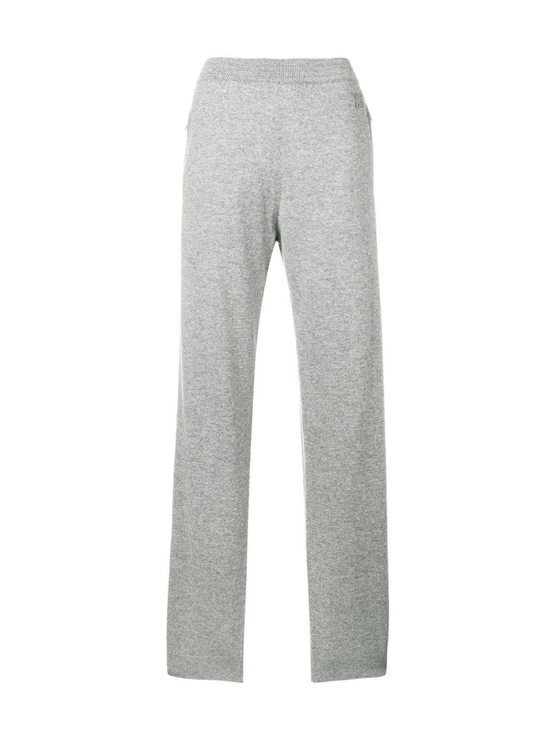 Grey Cashmere Track Trousers