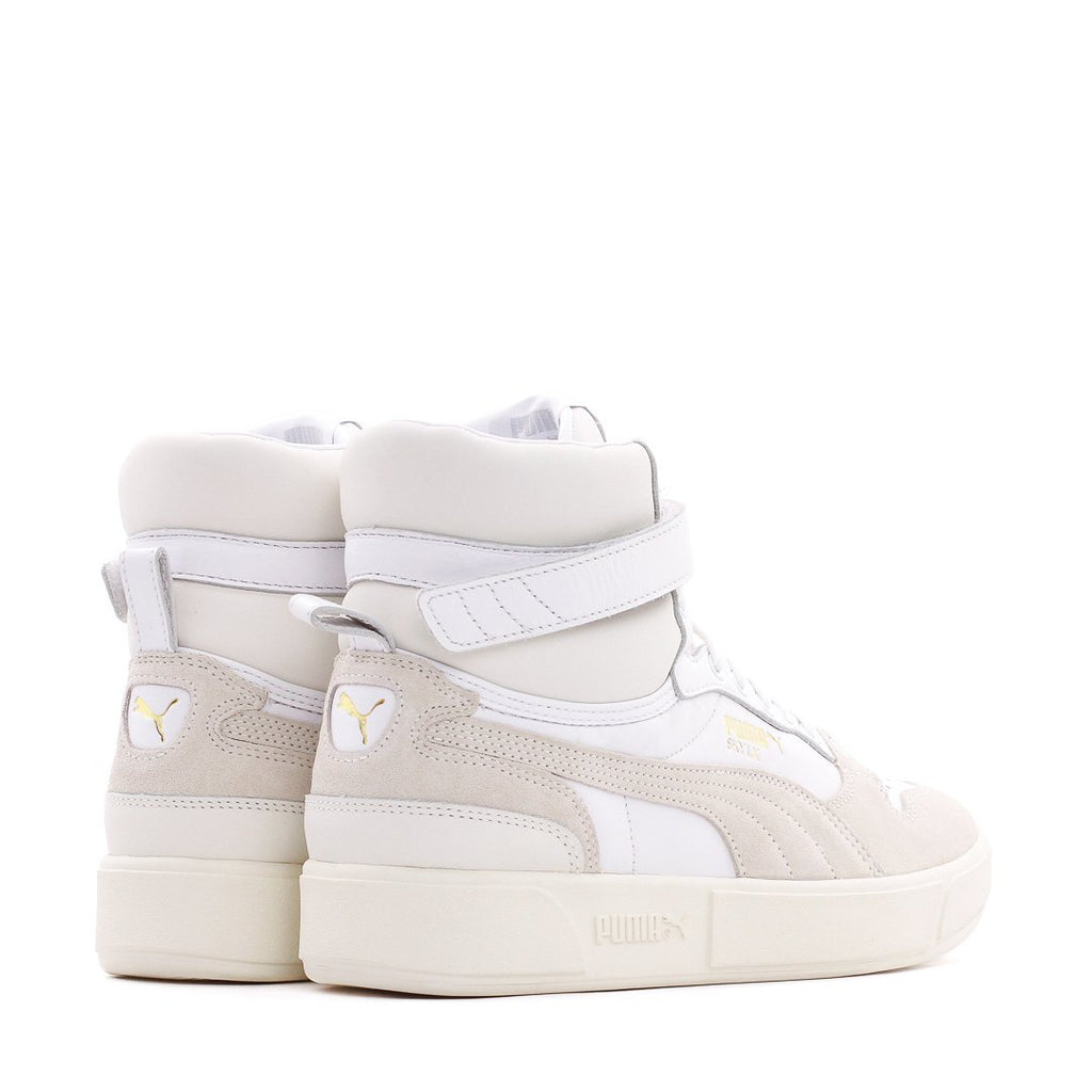 White Hoops Sky LX Mid Lux Sneakers