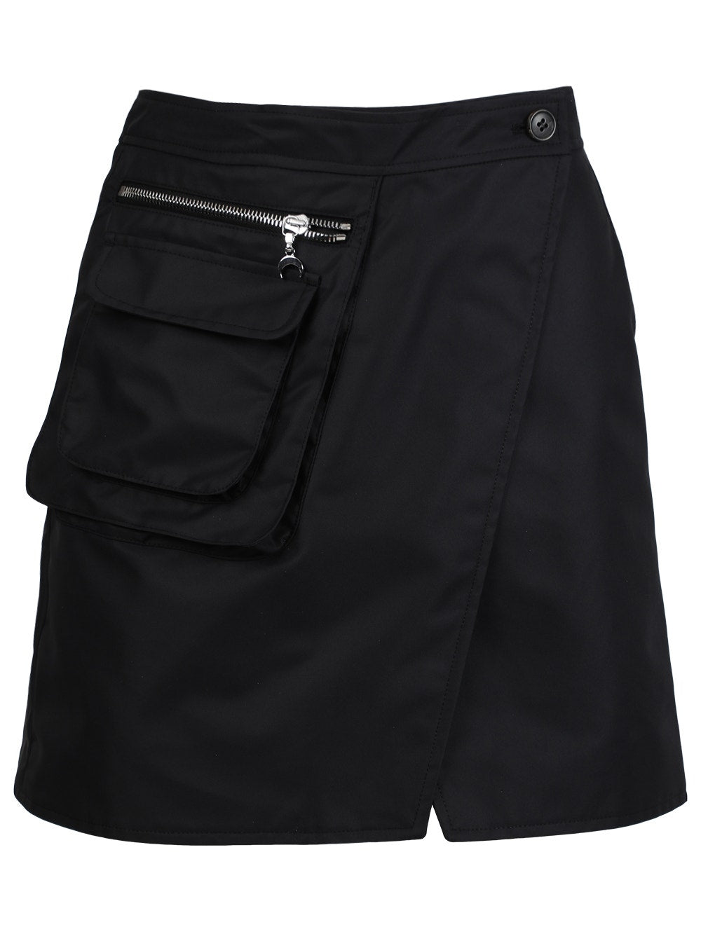 Black Survival Cycling Mini Skirt