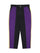 Black & Purple Contrast Color Tapered Pants thumbnail 1