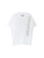 White Text Print Cotton T-Shirt thumbnail 1