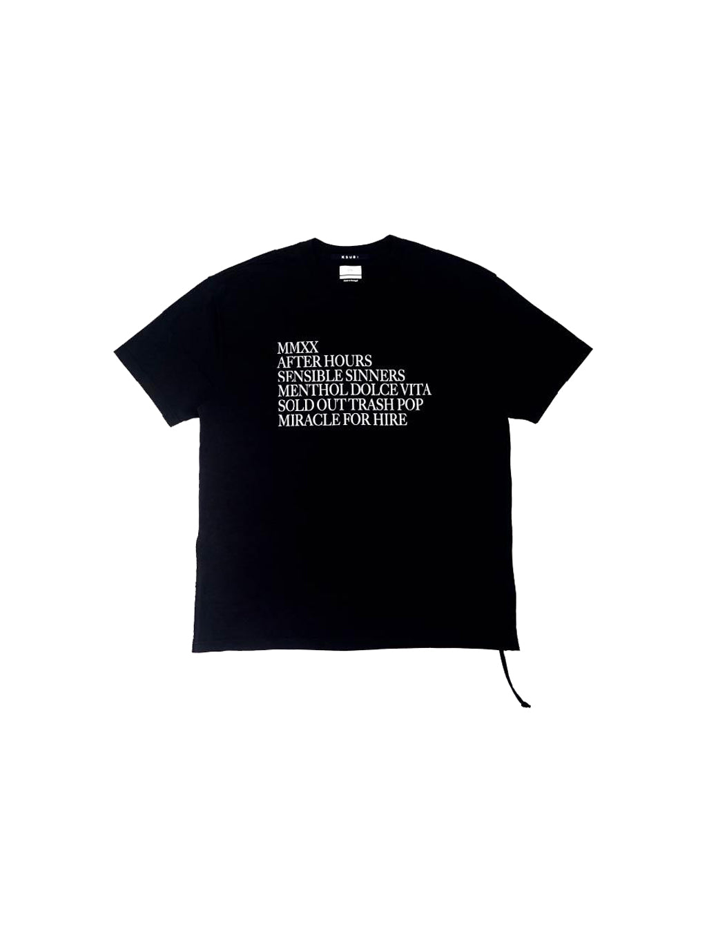 Black After Hours Tee