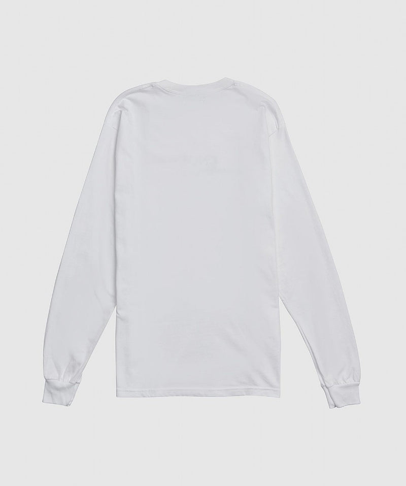White and Black Classic Long Sleeve T-shirt