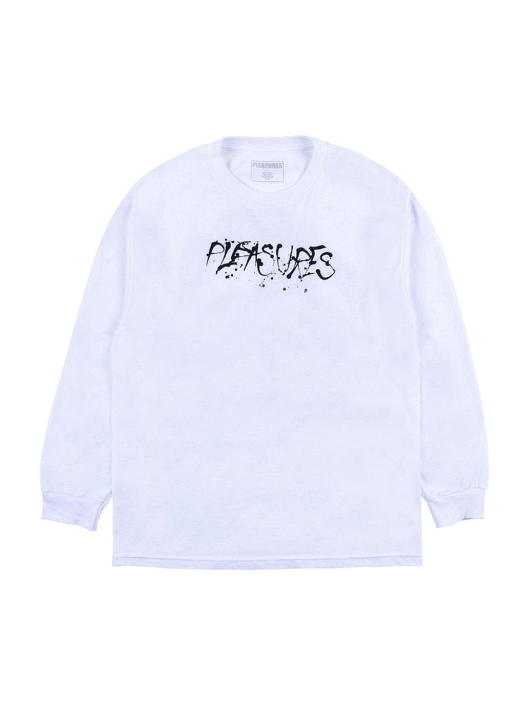 White God Bless Long Sleeve T Shirt