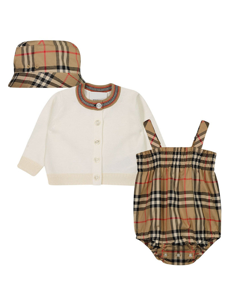 Archive Beige Three Piece Baby Gift Set