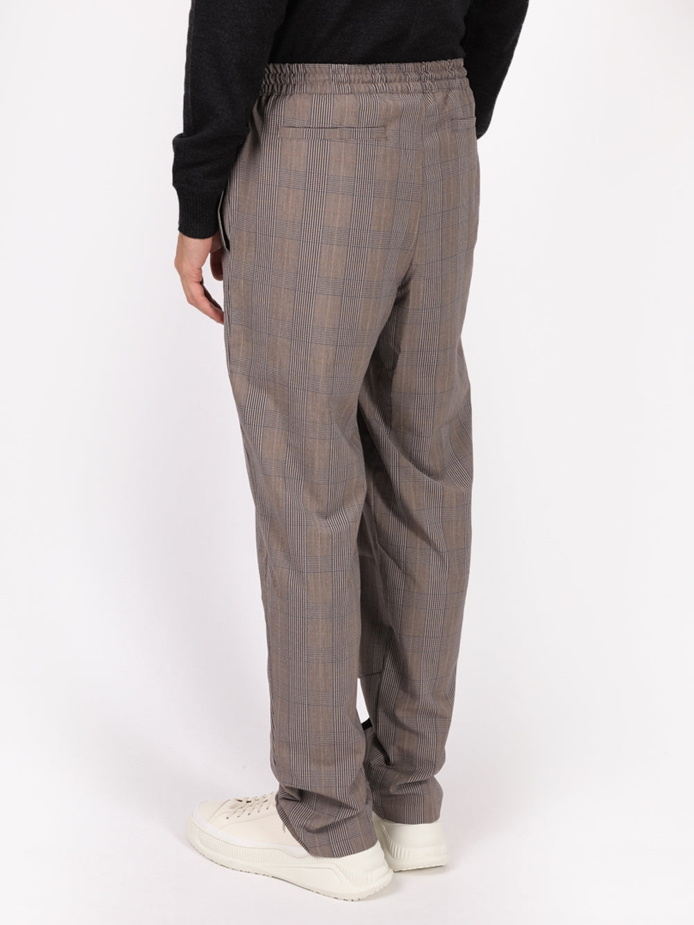 Grey Rhelaxed Suiting Pants