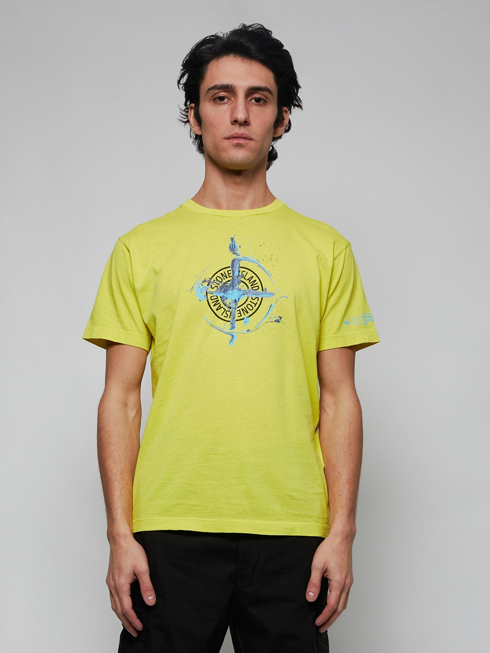 Pistachio Green Classic Fit Logo T-Shirt