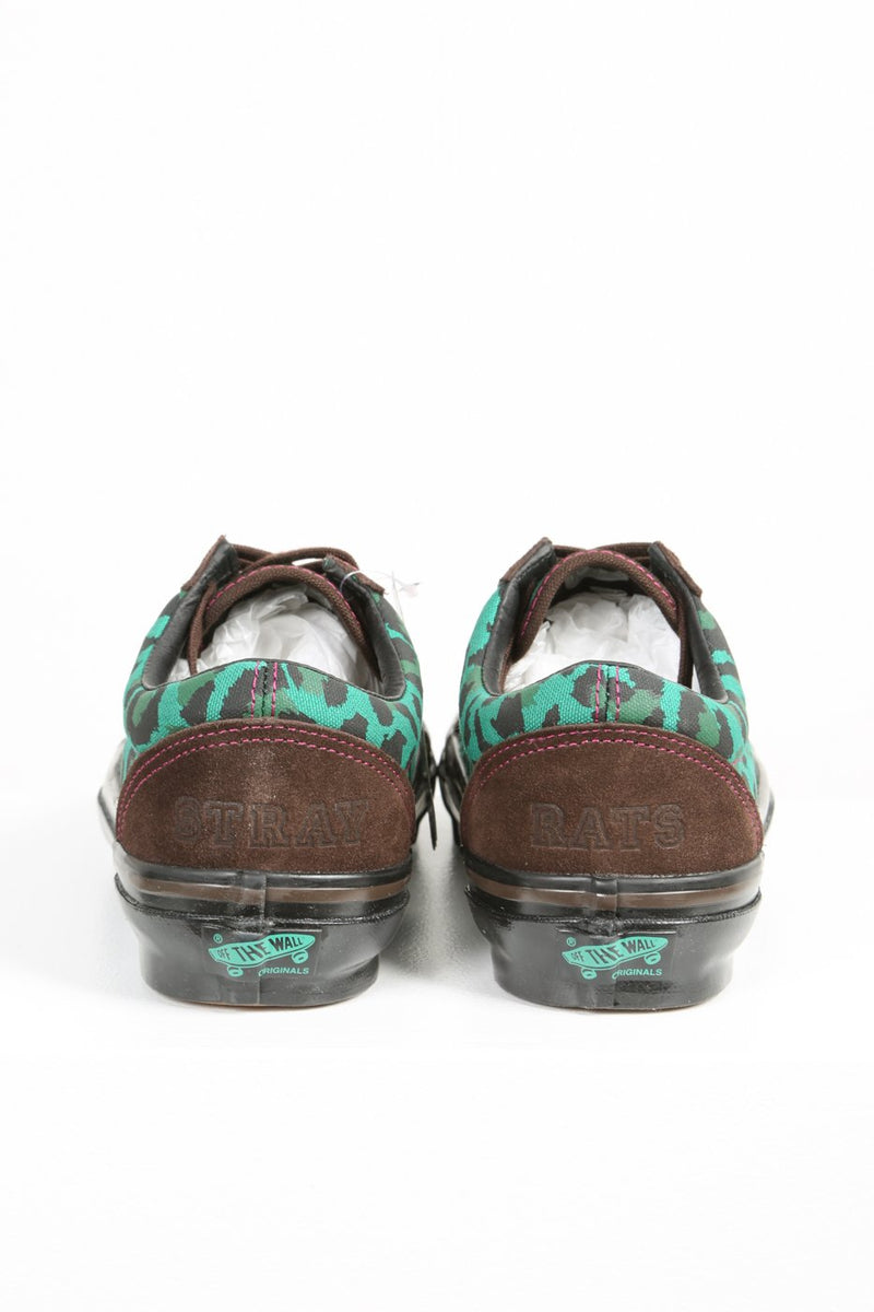 Brown & Green Old Skool OG LX Shoes