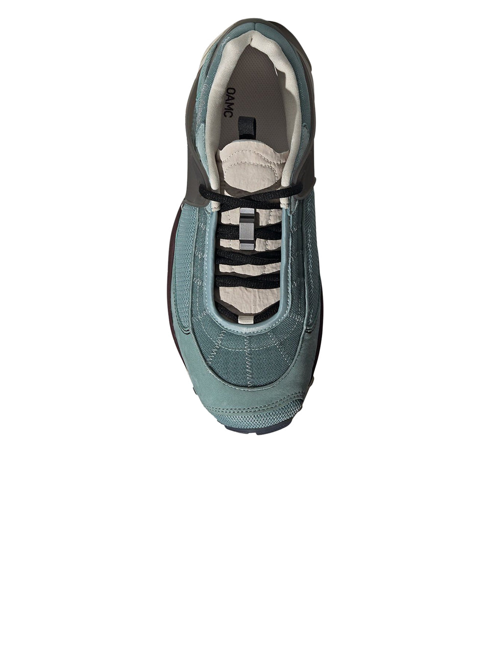 Grey & Blue OAMC Type O-5 Sneakers