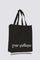 Black Cotton Logo NY/LA Tote Bag thumbnail 2